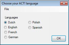 De Vertaling voor Act! CRM